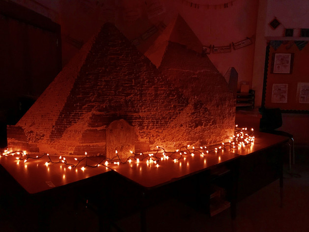 The Great Pyramids in your home!
