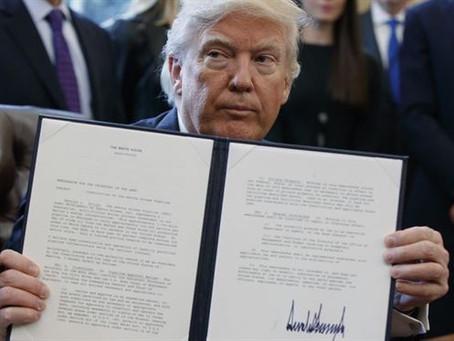 트럼프 대통령의 코로나 바이러스 구제 행정명령(Executive Order on COVID-19 Economic Relief)