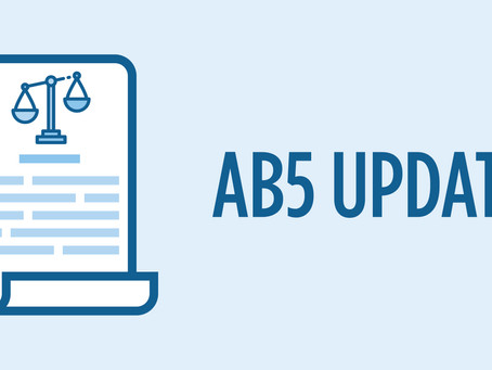 2020년 1월부터  시행 되는 캘리포니아의 새로운 노동법 (AB5)