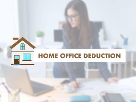 홈오피스 공제(Home office deduction)
