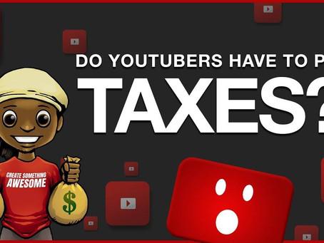 유튜버의 미국 세금보고