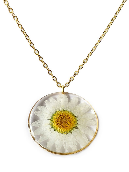 Daisy Circle Necklace