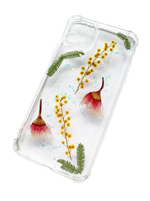 Australian Flowering Gum & Wattle Phone Case