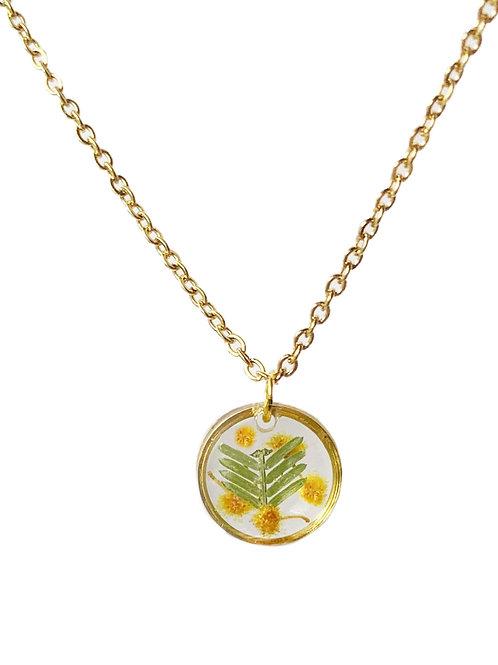 Wattle Circle Necklace