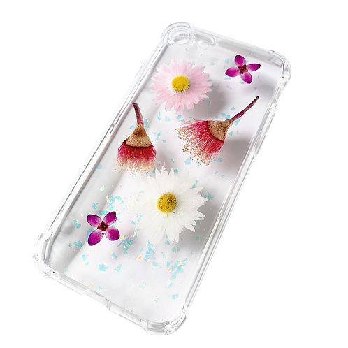 Australian Flowering Gum & Everlasting Daisy Phone Case