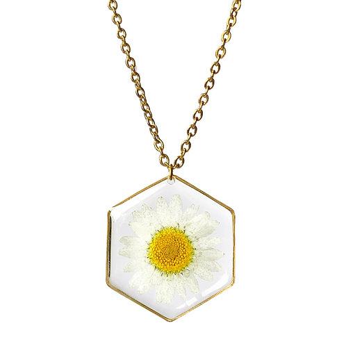 Daisy Necklace ○ Hexagon
