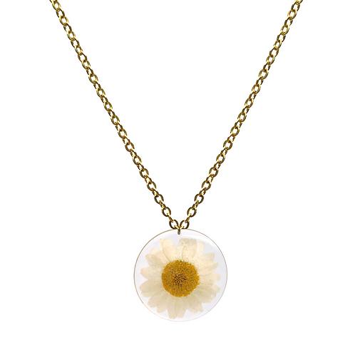 Daisy Necklace ○ Circle