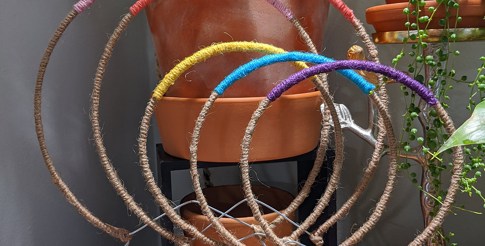 Handmade Round Trellis