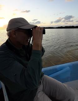 Sunset birdwatching © Joel Ortega