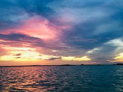 Sian Ka´an Sunset © Julie Cassard