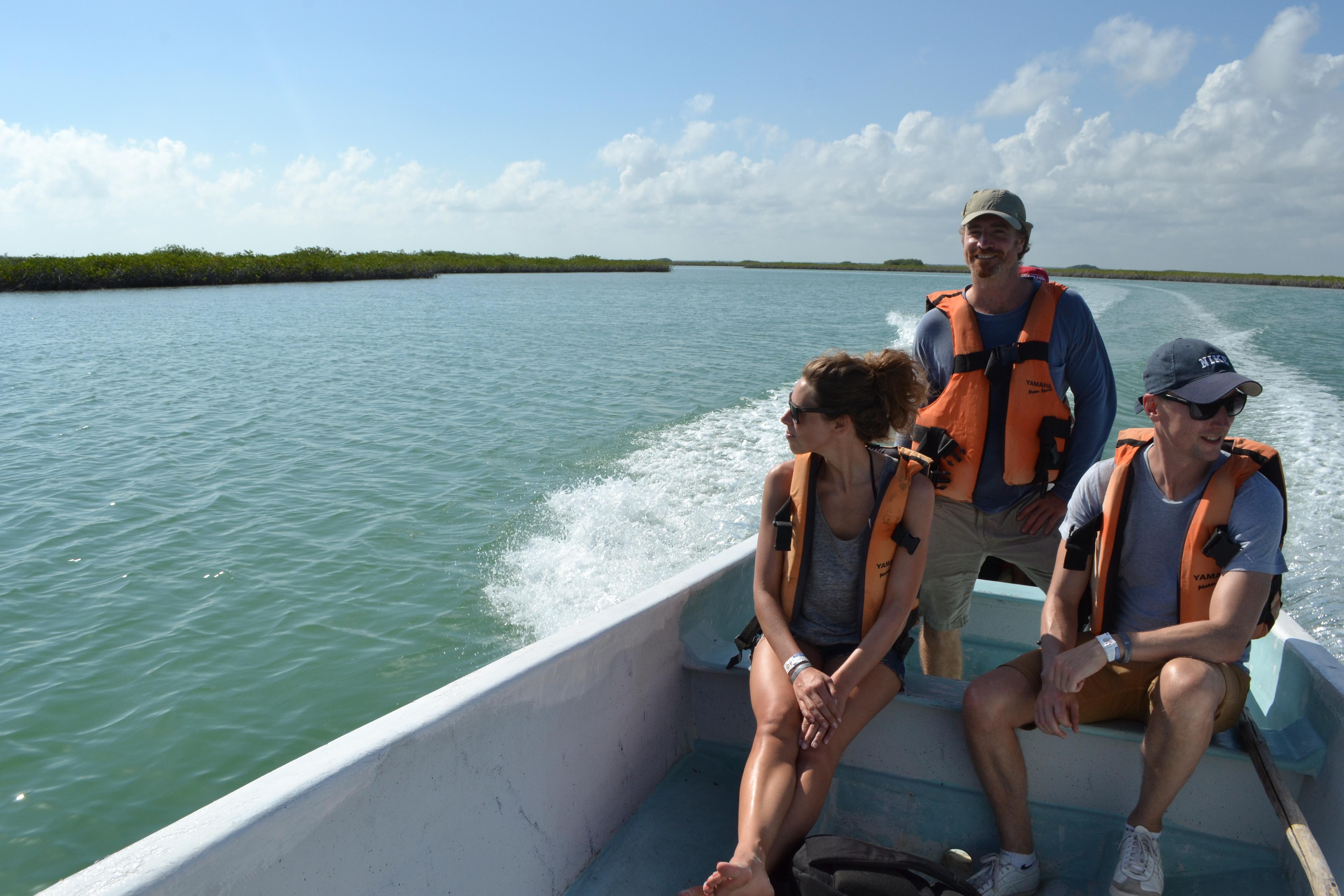 Sian Ka´an Boat tour