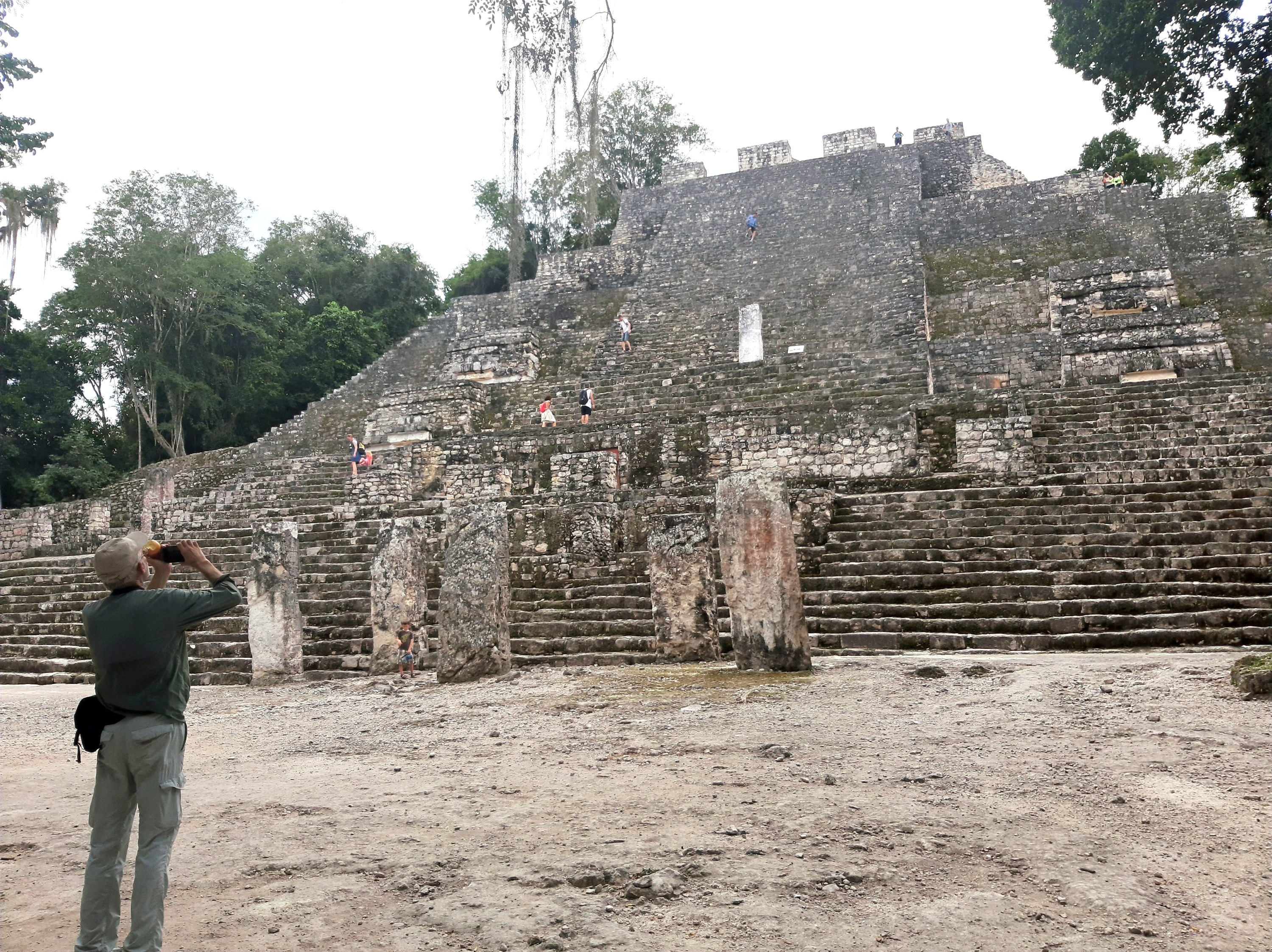 Calakmul Archaeological site © Joel Ortega