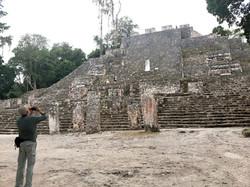 Calakmul Archaeological site © Joel Ortega