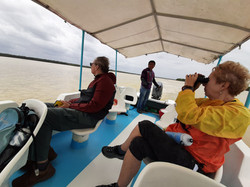 Boat ride Rio Lagartos © Joel Ortega