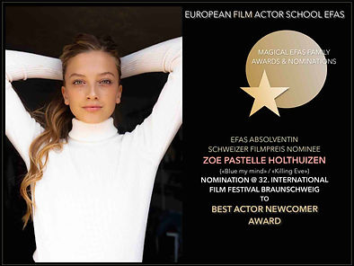 ZOE HOLTHUIZEN BEST ACTOR NEWCOMER NOMIN