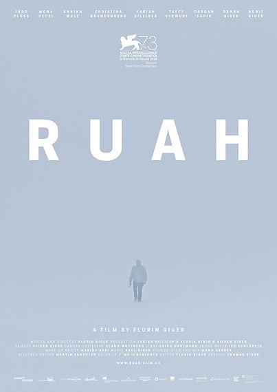 """""""RUAH"""" VON FLURIN GIGER (EFAS ABS.14) COMPETITION """"ORIZZONTI"""" @ MOSTRA INTERNAZIONALE DEL CINEMA IN VENICE"""
