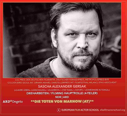 SASCHA ALEXANDER GERSAK IN TOTE VON MARN