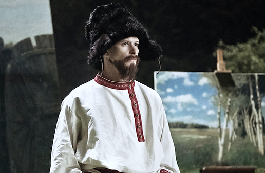 """Efas Grad. Joel Basman as Rainer Maria Rilke in """"Paula"""" by Christian Schwochow"""