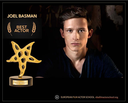 JOEL BASMAN PRIX WALO AWARD BEST ACTOR.j