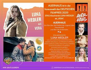 Efas Grad. Luna Wedler - Auerhaus  Selek