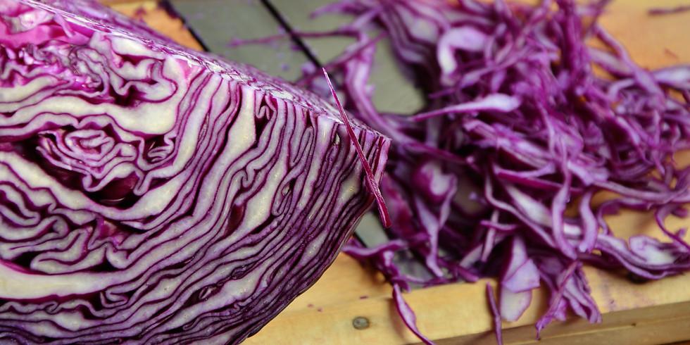 29 April Sauerkraut & Kimchi
