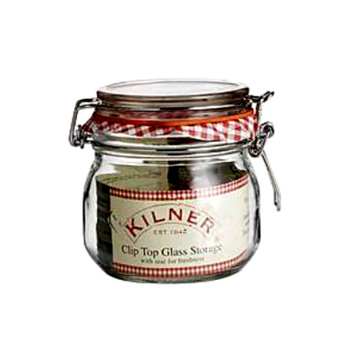 Kilner clip-top jar 500ml