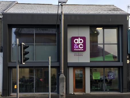 Work Complete on AB&C Insurance Lurgan Office