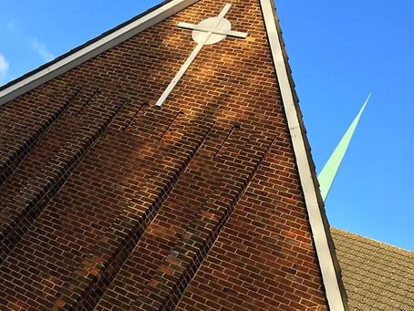 Mount Merrion Parish Church, Belfast -Restoration of Glulam Columns Instead of Replacement