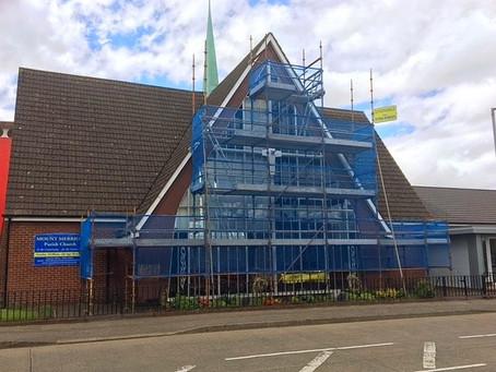 Repairs to Mount Merrion Church, Belfast