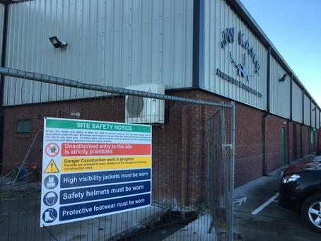 Work Begins on JW Kane Precision Engineering Ltd