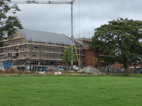 The new £1.3m Greenisland Baptist Church now only 4 months away from completion!