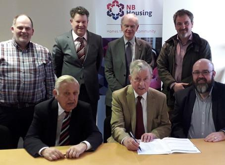 New Site Start – NB Housing at Hopefield Avenue, Belfast