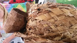 Banana fibre weaving