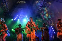 Leweton perform at Island Vibe