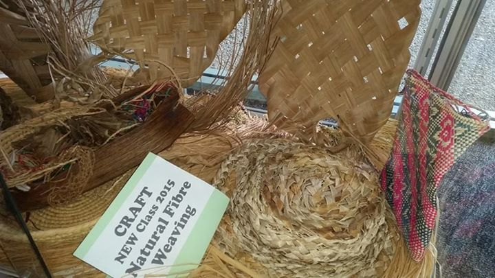 natural fibre weaving