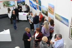 Art and photography opening night