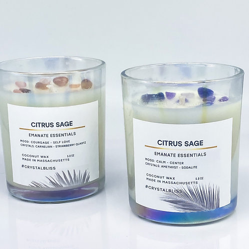 Iridescent Candle