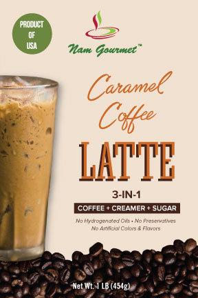3-in-1 Caramel Coffee Latte