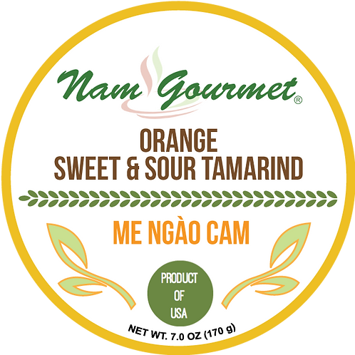 Orange Sweet & Sour Tamarind Candy | Me Ngao Cam