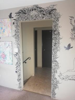 Doorway Mural