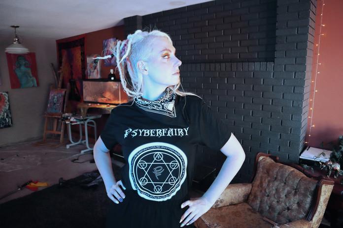 Psyberfairy Sigil Shirt