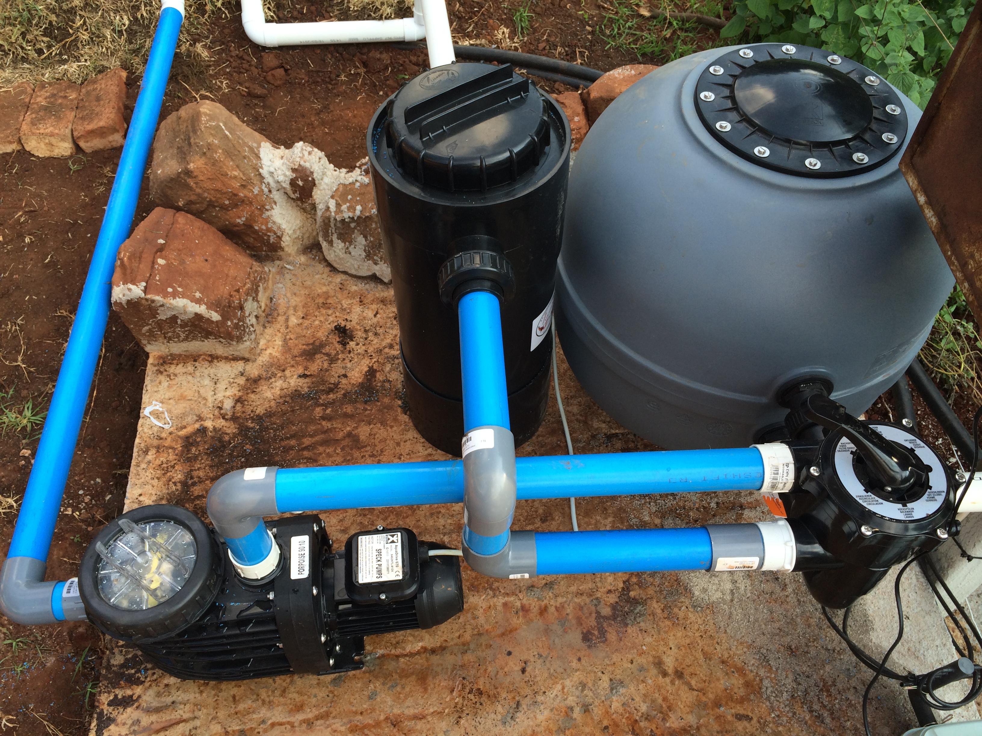 Filters & pumps