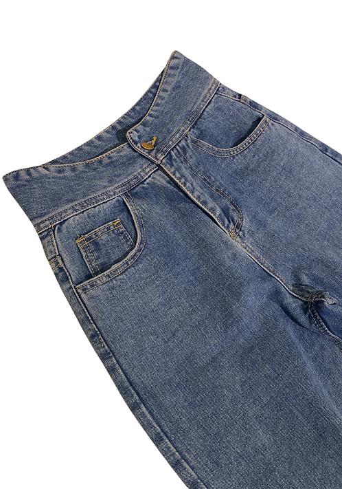 High Waist Relax Jeans