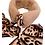 Thumbnail: Faux Fur Collar With Silk Twill