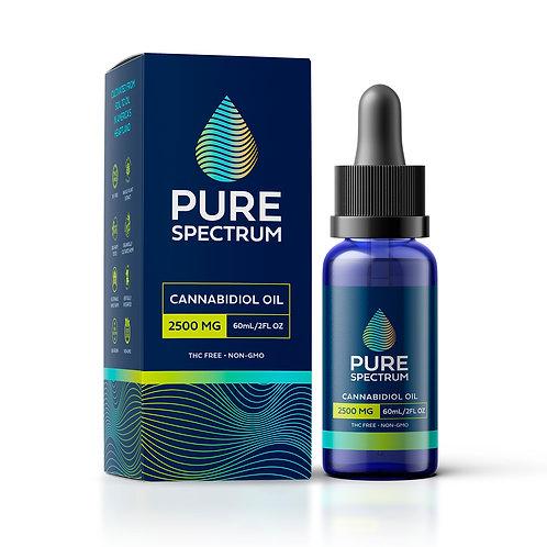 Pure Spectrum Organic CBD Oil 2500mg