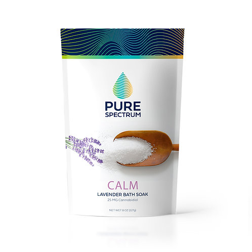 Calm: Lavender Relaxing Bath Soak