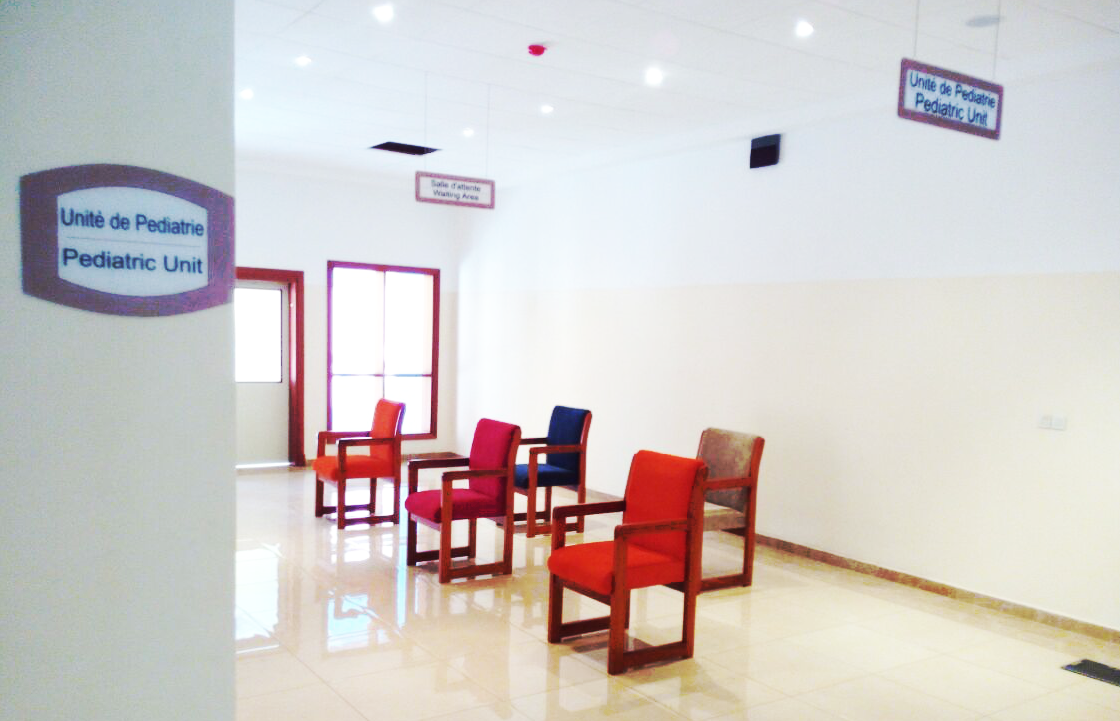 Pediatric waiting area