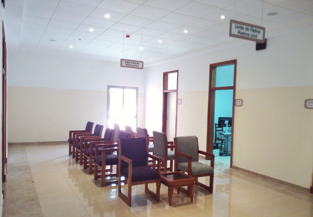 Retina Unit Waiting Area