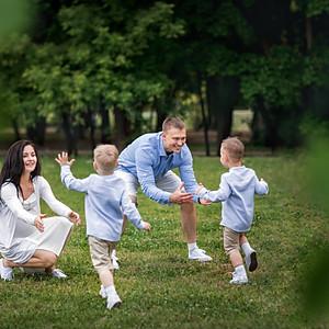 Семейная съёмка для Елены