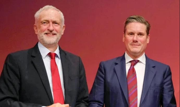 Jeremy Corbyn Keir Starmer